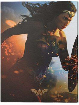 Canvas Print Wonder Woman - Courage