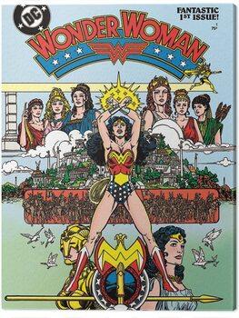 Canvas Print Wonder Woman - Fantastic