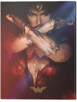 Canvas Print Wonder Woman - Power