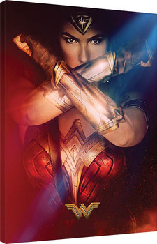Canvas Print Wonder Woman - Power