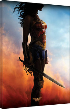 Wonder Woman - Teaser Canvas Print