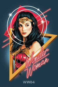 Canvas Print Wonder Woman - Welcome to the 80s