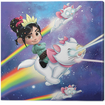 Canvas Print Wreck-It Ralph - Disney Cameo