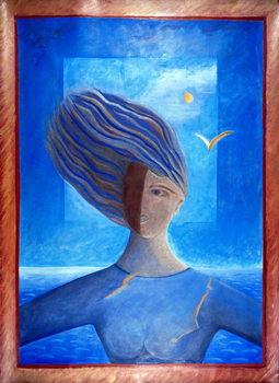 Zoe de la Mer, 1993 Canvas Print