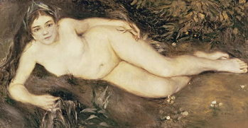 A Nymph by a Stream, 1869-70 Canvas Print