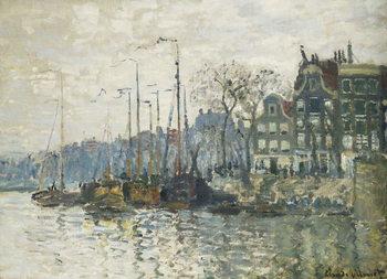 Amsterdam, 1874 Canvas Print