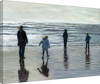 Andrew McNeile Jones - Testing The Waves Canvas Print