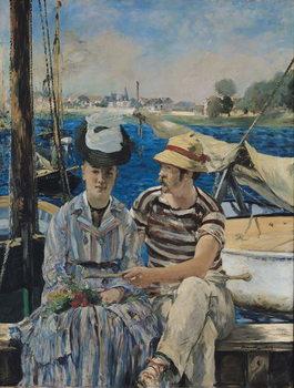 Argenteuil, 1874 Canvas Print