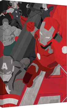 Avengers: Age Of Ultron - Pop Art Canvas Print