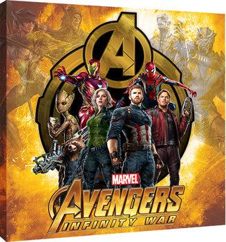 Avengers Infinity War - Explosive Canvas Print