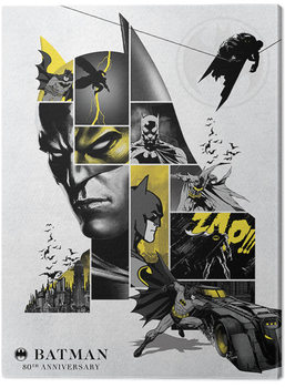 Batman - 80th Anniversary Canvas Print