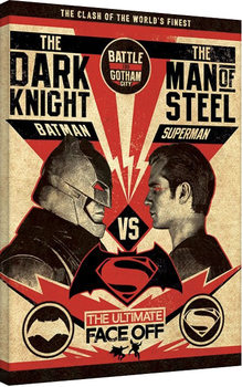 Batman V Superman - Showdown Canvas Print