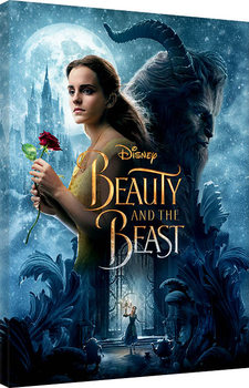 Beauty and the Beast - Tale As Old As Time Canvas Print
