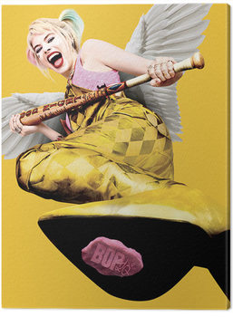 Birds Of Prey: And the Fantabulous Emancipation Of One Harley Quinn - Harley Quinn Wings Canvas Print
