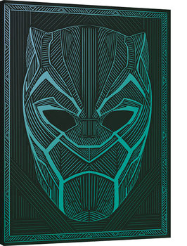 Black Panther - Tribal Mask Canvas Print