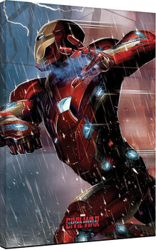 Captain America Civil War - Iron Man Canvas Print