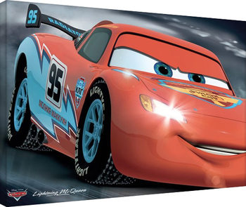 Cars - McQueen 95 Canvas Print