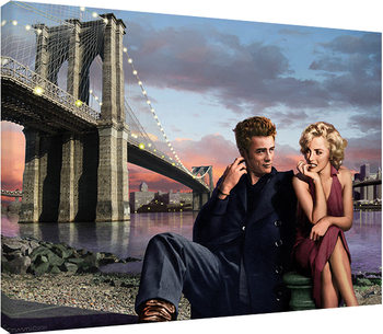 Chris Consani - Brooklyn Nights Canvas Print