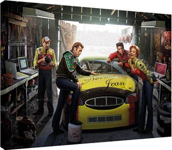 Chris Consani - Eternal Speedway Canvas Print
