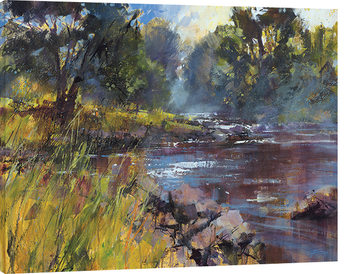 Chris Forsey - Rocky River Canvas Print