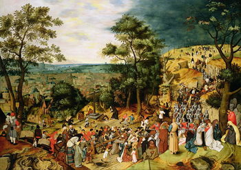 Christ on the Road to Calvary, 1607 Canvas Print