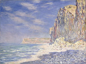 Cliffs near Fecamp, 1881 Canvas Print
