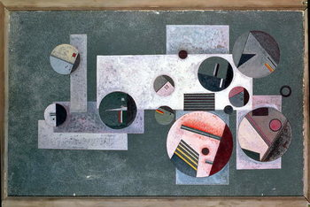 Closed Circles, 1933 Canvas Print