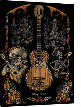 Coco - Day of the Dead Canvas Print