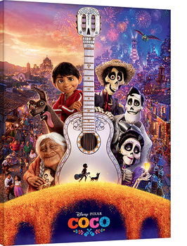 Coco - Guitar Canvas Print