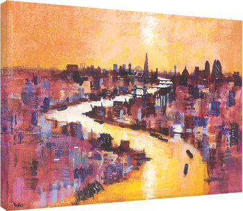 Colin Ruffell - From Canary Wharf Canvas Print