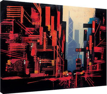 Colin Ruffell - Hong Kong Canvas Print