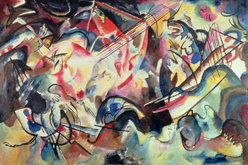 Composition No. 6, 1913 Canvas Print