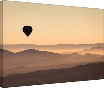 David Clapp - Cappadocia Balloon Ride Canvas Print