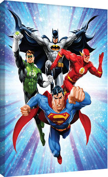 DC Comics - Justice League - Supreme Team Canvas Print