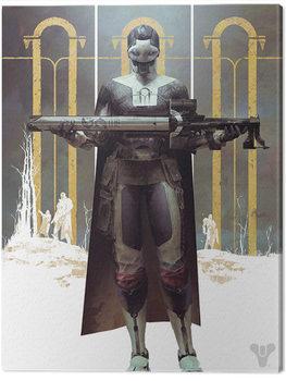 Destiny - Black Armory Canvas Print
