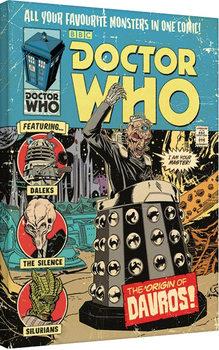 Doctor Who - The Origin of Davros Canvas Print