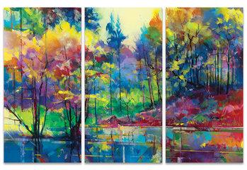 Doug Eaton - Meadowcliff Pond Canvas Print