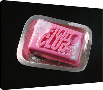 Fight Club - Soap Canvas Print