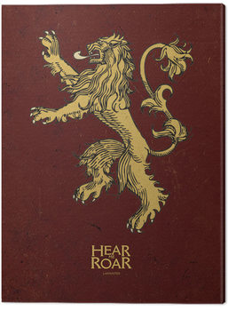 Game Of Thrones - Lannister Canvas Print