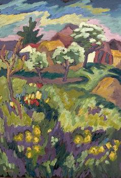Garden of my Childhood, 2005 Canvas Print