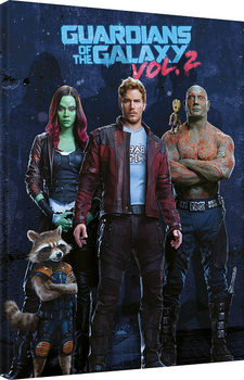 Guardians of the Galaxy Vol. 2 - Team Canvas Print