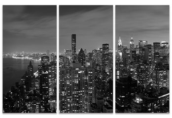 Håkan Strand: Midtown Panorama, NYC Canvas Print