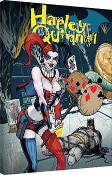 Harley Quinn - Hammer Canvas Print