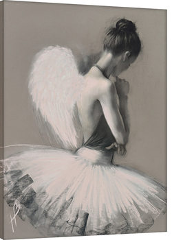 Hazel Bowman - Angel Wings II Canvas Print