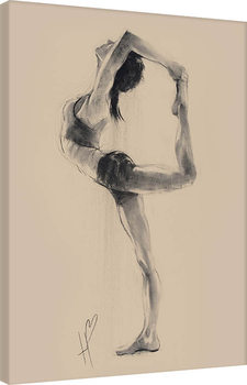 Hazel Bowman - Lord of the Dance Pose Canvas Print
