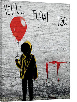 IT - Georgie Graffiti Canvas Print