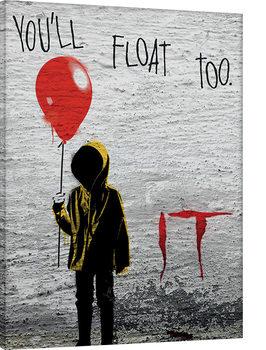 IT - Georgie Graffiti Canvas Print