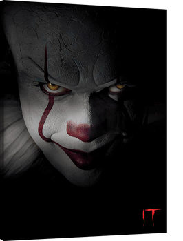 IT - Pennywise Closeup Canvas Print