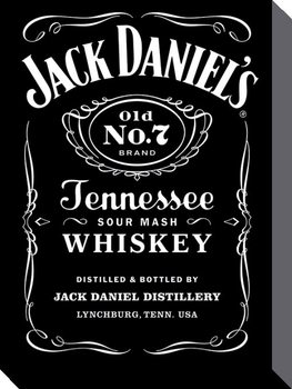 Jack Daniel's - Label Canvas Print