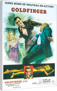 James Bond: Goldfinger - Foreign Language Canvas Print